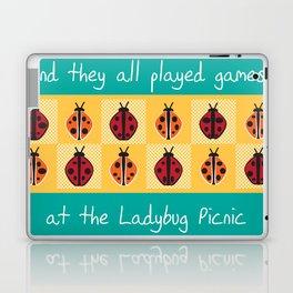 Ladybug Picnic Laptop & iPad Skin