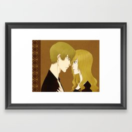 I'm with you Framed Art Print