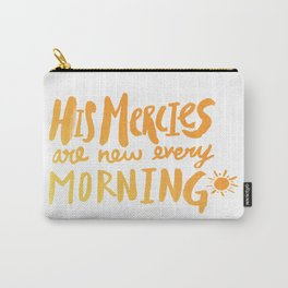 Mercy Morning Sunrise Carry-All Pouch