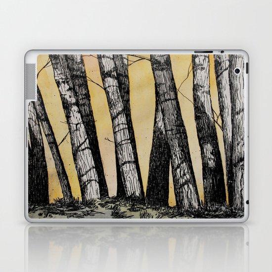 Row of Trees Laptop & iPad Skin