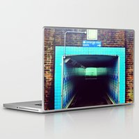 subway Laptop & iPad Skins featuring Subway by Efua Boakye