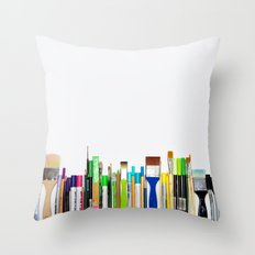 Real Weapons Of Mass Creation II Throw Pillow
