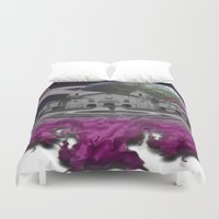 lebron Duvet Covers featuring Destroy & Rebuild by SaintCastro