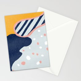 Abstact colorful design Stationery Cards