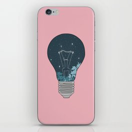 NIGHT BULB iPhone Skin