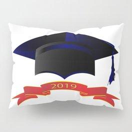 Cap Class Of 2019 Pillow Sham