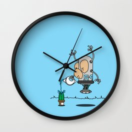 Robot 5-9 Wall Clock