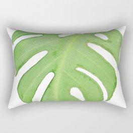 Monstera Leaf Rectangular Pillow