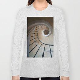 Pretty brown spiral staircase Long Sleeve T-shirt