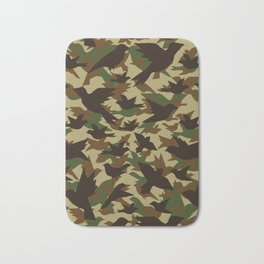 Bird Camouflage 2 Bath Mat