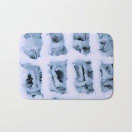 Snow Pattern Bath Mat