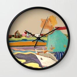 Am Rhein Wall Clock