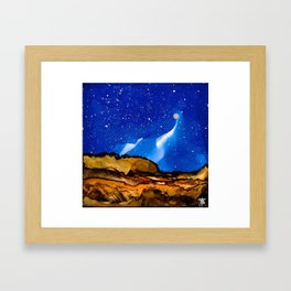 No. 39 - You're So Calm And I Don't Know Where You Are From Framed Art Print