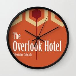The Overlook Hotel Wall Clock