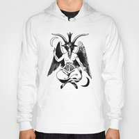 baphomet Hoodies featuring BAPHOMET by carolin walch