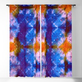 Tie Dye Chimes Blackout Curtain