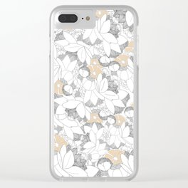 Zest For Summer Clear iPhone Case