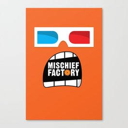 Mischief Factory Canvas Print