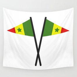 Senegal flag Wall Tapestry