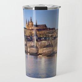 Prague Castle and Charles Bridge Travel Mug