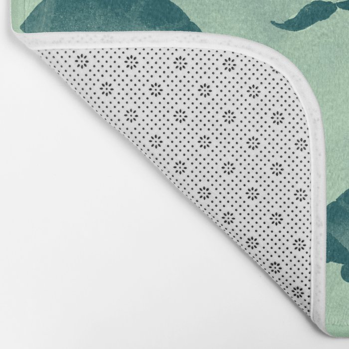 Down with the turtles Bath Mat