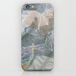 Keystone Trail Map iPhone Case