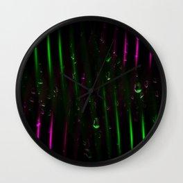 Abstractart : Colordrops Wall Clock