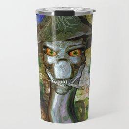 Mikey's Mushroom Skull Travel Mug