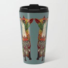 fox love Travel Mug