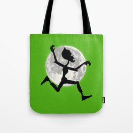 Friendly Zombie On The Go - Run Tote Bag