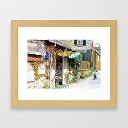Giverny Streetscene Framed Art Print