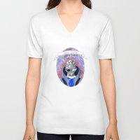 garrus V-neck T-shirts featuring Mass Effect: Garrus by Sunol Golden