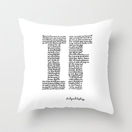 If Poem Throw Pillow
