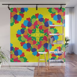Floral Motives_10 by Victoria Deregus Wall Mural