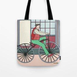 Steampunk Mustache Tote Bag