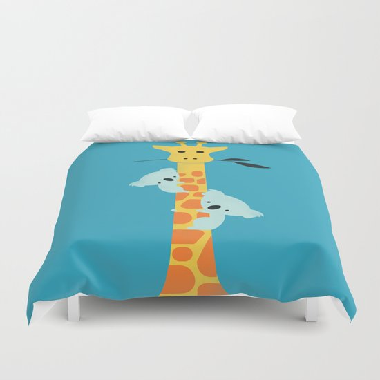 I'll be your tree Duvet Cover