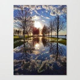 Glass Path Canvas Print