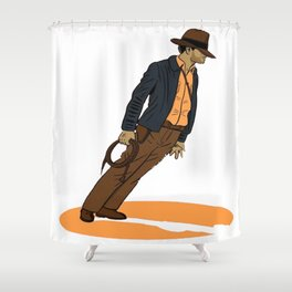 INDIANA JONES JACKSON Shower Curtain