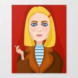Margo Tenenbaum Canvas Print