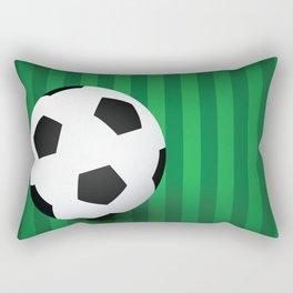SOCCER Abstract Art Rectangular Pillow