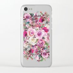 Bouquet of flowers - wreath Clear iPhone Case