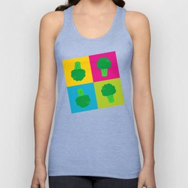 Popart Broccoli Unisex Tank Top