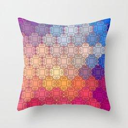 Indian pattern Throw Pillow