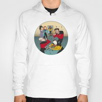 band Hoodies featuring Star Trek Jam Band by Jessica Fink