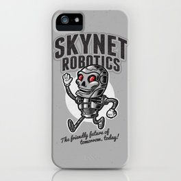 The Friendly Future iPhone Case