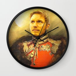 Starlord Guardians Of The Galaxy General Portrait Painting | Fan Art Wall Clock
