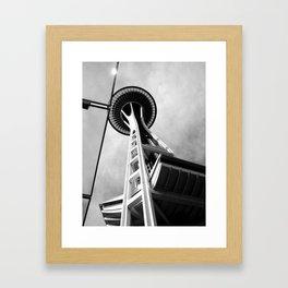 Space Needle Framed Art Print