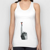 strong Tank Tops featuring Strong by yael frankel
