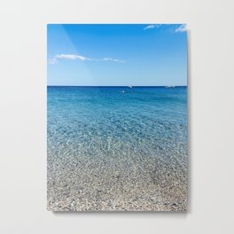 Magical beach Metal Print
