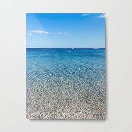 Magical beach Metal Print